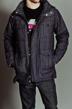 Crisis Field Jacket Dark Slate