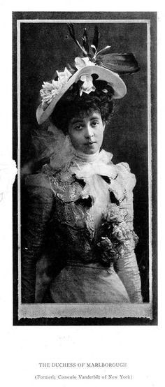 Consuelo Vanderbilt | Duchess of Marlborough Portrait circa 1906. Burr McIntosh Monthly. vol.XI, no.42 (September 1906)