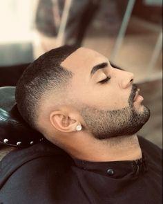 Contour, Hair Cuts, Mens Fashion, Hair Styles, Short Haircuts, Fade With Beard, Mustache Styles, Short Hair And Beard, Beard Designs