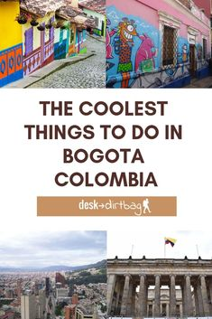 People traveling to Colombia wonder whether to visit Bogotá. It may have a slightly chaotic atmosphere but there are many things to do in Bogota, Colombia! Latin Travel, Solo Travel, Travel Tips, Travel Ideas, Trip To Colombia, Colombia Travel, Places To Travel, Travel Destinations, Places To Visit