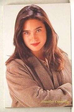 Jennifer Connelly Picture Postcard 1992 :pca
