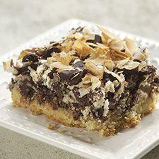 Chocolate-Coconut Macaroon Bars: King Arthur Flour