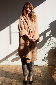 lauren manoogian capote coat