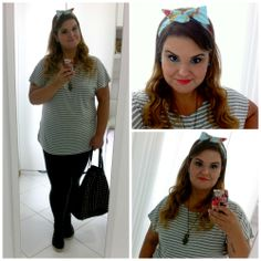 One of my looks!  www.grandesmulheres.com.br