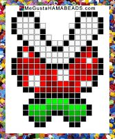 Patrones Hama Beads Super Mario World parte 2