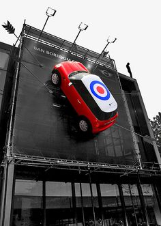 Roundhouse Mini Cooper London.....who does this!?