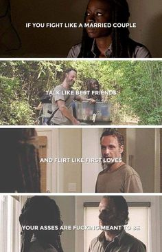 Rick and Michonne | The Walking Dead (AMC) | S5