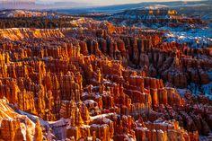 Inspiration Point, Bryce Canyon by Josh Levinson, via 500px