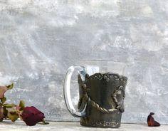 Personalized giftCustom glassCoffee mug от CottageVintageShabby