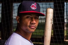 Cleveland Indians Francisco Mejia during media day at the Indians spring training facility in Goodyear Arizona.  2018.