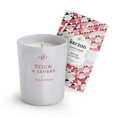 "Kerzon fragranced candle ""STICK A LEVRES"""