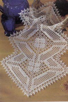 Crochê - Toalhinhas - Elaine Cristini - Picasa Web Albums:
