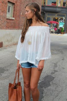 TOUCH OF BOHO top