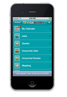 Foxbuddy - app for managing small business with employees out on the road. Send next job details, locations, directions to employees. See employee locations and keep accurate time records for employers. Much much more. 80c a day. Free 1 month trial. Awesome!