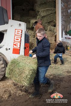 Work hard, play hard. That's the motto our Co-op farm families live by. #farmlife #simplegoodness