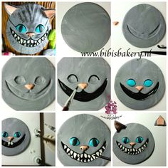 Hi everybody, do you recognise it? This is Cheshire Cat, from Tim Burton's Alice in Wonderland. Here is the pictorial how you can make it yourself. Good luck xxx Bibi
