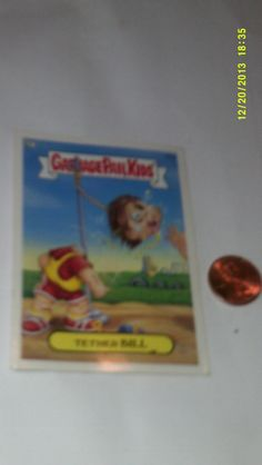 Garbage Pail Kids Card/Sticker Tether Bill