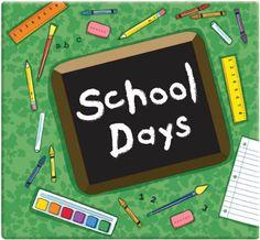 MBI School Days Album, 12 by 12-Inch, Green .
