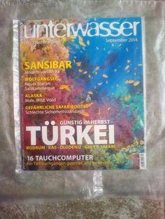 Unterwasser!Das Tauchmagazin!September 2014!TÜRKEI!NEU!