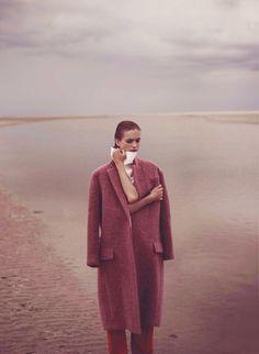 'Oneindig Schier' Mirte Maas photographed by Annemarieke Van Drimmelen for Vogue Netherlands, November 2012