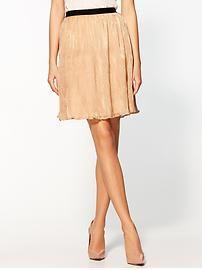 Sabine Metallic Crinkle Skirt