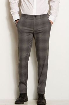 Plaid Dress Pant - Dress Pants - Pants - Mens - Armani Exchange