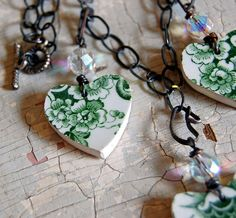 broken china | Broken China Jewelry Necklace | Flickr - Photo Sharing!