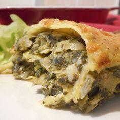 Lasagne met spinazie, artisjok & Parmezaanse kaas - Het keukentje van Syts