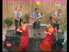 """The Makaha Sons singing """"Nohili e & Kealoha"""" plus a short comment by group member afterward. Hula Dance, Dance Art, Easy Listening Music, Hawaiian, Music Videos, Sons, Concerts, Israel, Albums"""