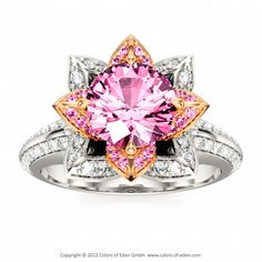 Pink Lotus Ring ohhhhhhhhhhhhhhhhh ma lord if it was blue it'd be perfect!