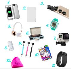 Electronics gifts that teen girls will love!