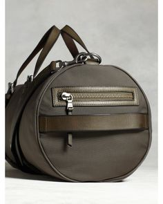 John Varvatos | Gray Fulton Gym Bag for Men | Lyst