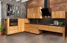 Кухня «Берген» Берген от Wellige | Мебель для кухни из массива дуба в стиле Лофт