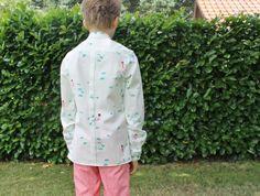 Rugplooi hemd