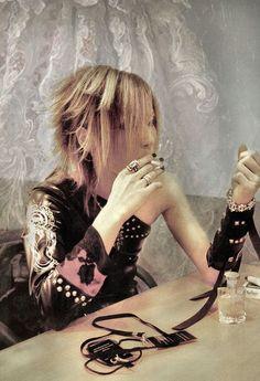 Uruha. The GazettE Best Rock Bands, New Bands, Cool Bands, Aoi The Gazette, Gackt, Punk Rave, Visual Kei, Pretty Boys, Entertainment