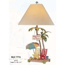 Welcome to the Beach Lamp