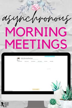 If you are teaching remotely or hybrid and are looking for an asynchronous way to deliver your morning meeting messages to your class, then dailymorningmeetings.com is an ideal solution. Every weekday, a new morning message will appear and there is no prep work involved. There are 6 different themes to choose from each day if you want to mix it up with your students, but the Daily Motivation is always free if you want to start your day with an inspirational quote and prompt! Secondary Teacher, Secondary School, School Resources, Teacher Resources, Technology Integration, Daily Thoughts, Time Activities, Morning Messages, Daily Motivation