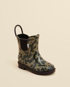 Toms Boys' Camouflage Rain Boots - Baby, Walker, Toddler