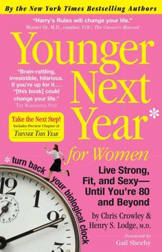 Co-written by one of the country's most prominent internists, Dr. Henry Harry Lodge, and his star patient, the 73-year-old Chris Crowley, Younger Next Year for Women is a book of hope, a guide to agin