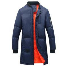 Men's Long Winter Coat