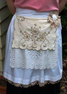 Vintage Apron- simply beautiful!!!