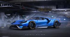 2017 ford GT with liberty walk kit