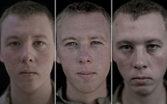 Mesmerizing Photographs Of Soldiers' Faces Before And After A War