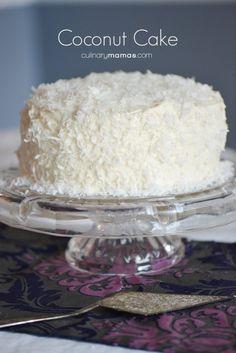Coconut Cake @FoodBlogs