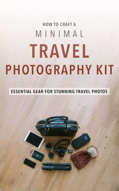 to craft a minimal travel photography kit Travel tips on collecting the perfect travel photography gear. It's is a mixture of art and science.Travel tips on collecting the perfect travel photography gear. It's is a mixture of art and science. Travel Photography Tumblr, Photography Beach, Dslr Photography Tips, Photography Tutorials, Landscape Photography, Photography Courses, Iphone Photography, Mobile Photography, Photography Backgrounds