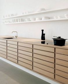 Dark, light, oak, maple, cherry cabinetry and wood kitchen cabinets at home depot. CHECK THE PIC for Many Wood Kitchen Cabinets. Kitchen Cabinets Home Depot, Kitchen Cabinetry, Kitchen Shelves, Home Decor Kitchen, Kitchen Ideas, Kitchen Wood, Open Kitchen, Kitchen Tips, White Wood Kitchens