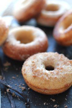 Vanilla Cinnamon Sugar & Buttermilk Baked Donuts. Yes. #justdesserts