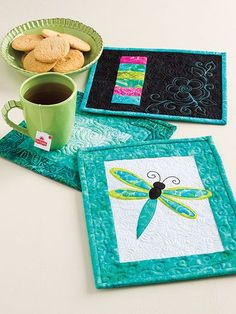 Learn to Make Quilted Mug Rugs More