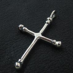 Silver Byzantine cross from The Sunken City by DaWanda.com