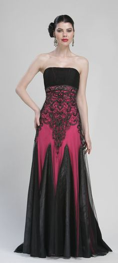 Embroidered Torso Ball Gowns by Sue Wong   Nikki Clothes   Pinterest ...
